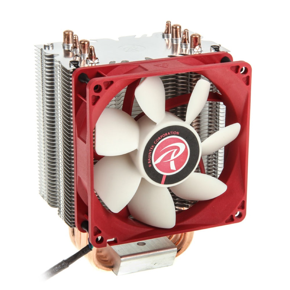 Raijintek Aidos CPU Cooler - PWM - 92mm