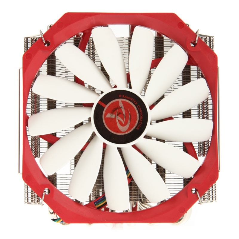 Raijintek Pallas Low Profile CPU Cooler - PWM - 140mm