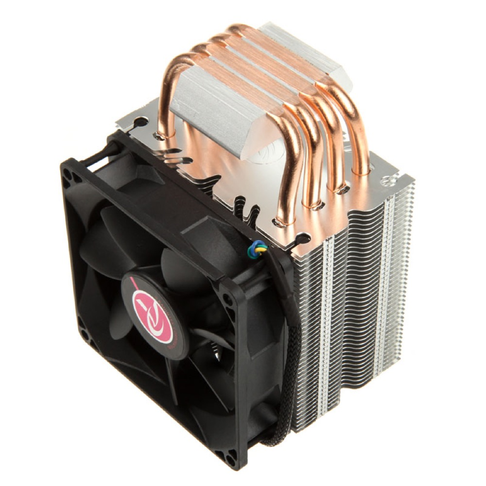 Raijintek Aidos Black CPU Cooler - PWM - 92mm