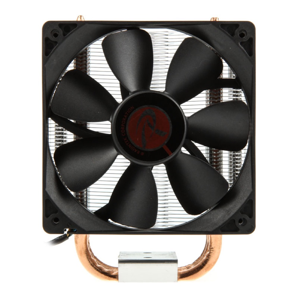 Raijintek Themis Black CPU Cooler - PWM - 120mm