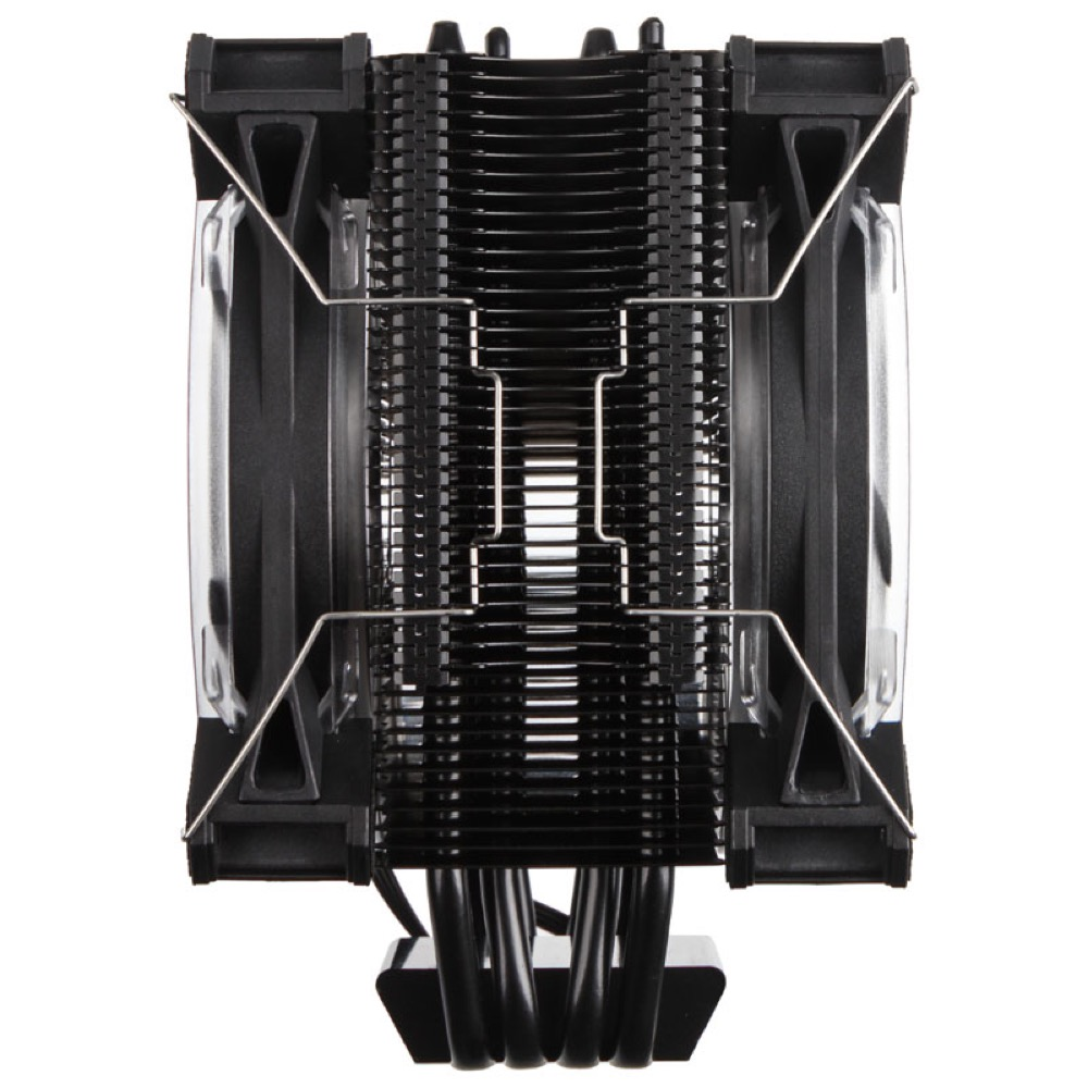 Raijintek Leto Pro CPU Cooler - Black - RGB-LED - 2x120mm