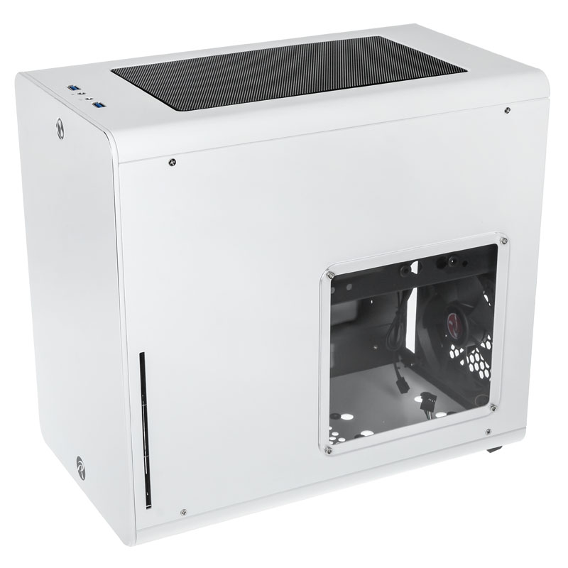 Raijintek STYX Micro-ATX Case - White - Window
