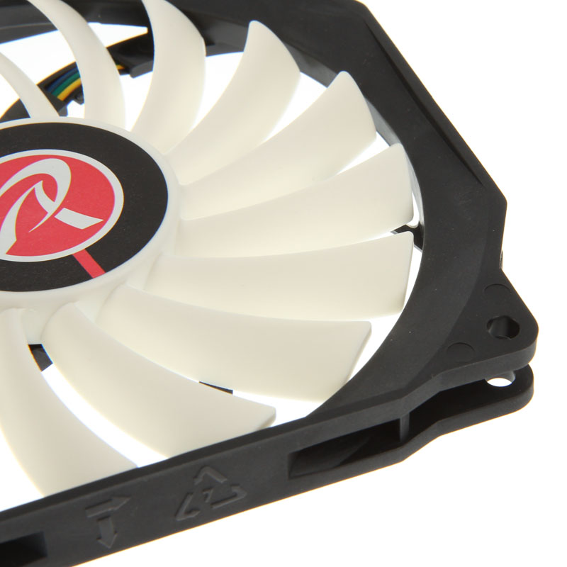 Raijintek Aeolus Beta Fan - Black/White - 120mm (400-1400 rpm)
