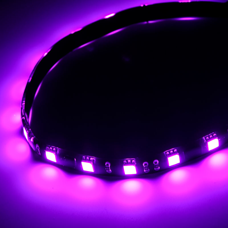 BitFenix Alchemy 2.0 Magnetic LED-Strip - 12cm, 6 LEDs - Purple
