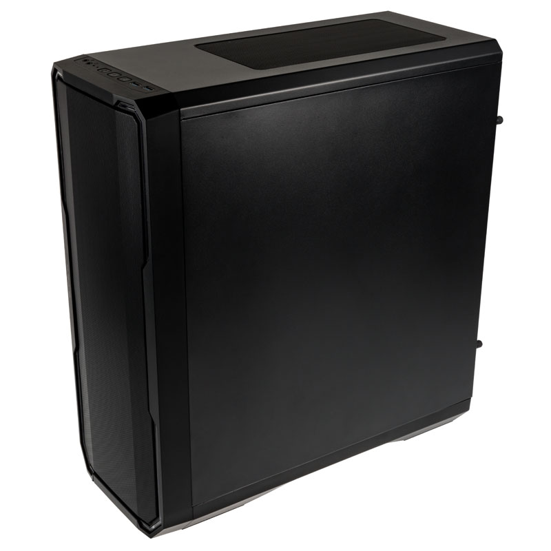 BitFenix Enso Mesh Midi-Tower Case - RGB - Black - Tempered Glass