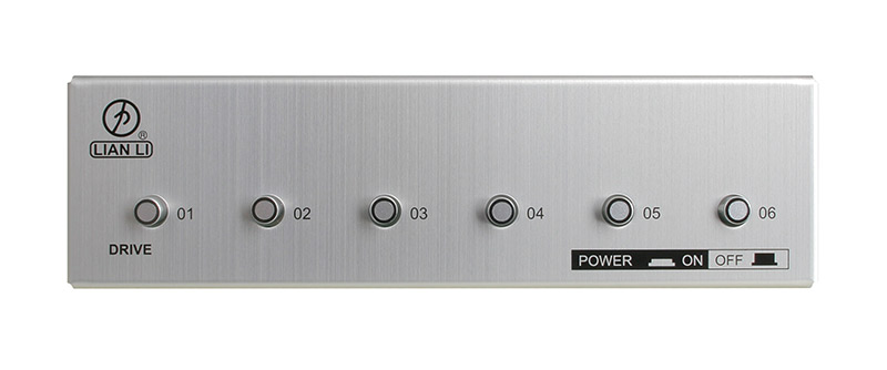 Lian Li BZ-H06A SATA Power Switch - Silver
