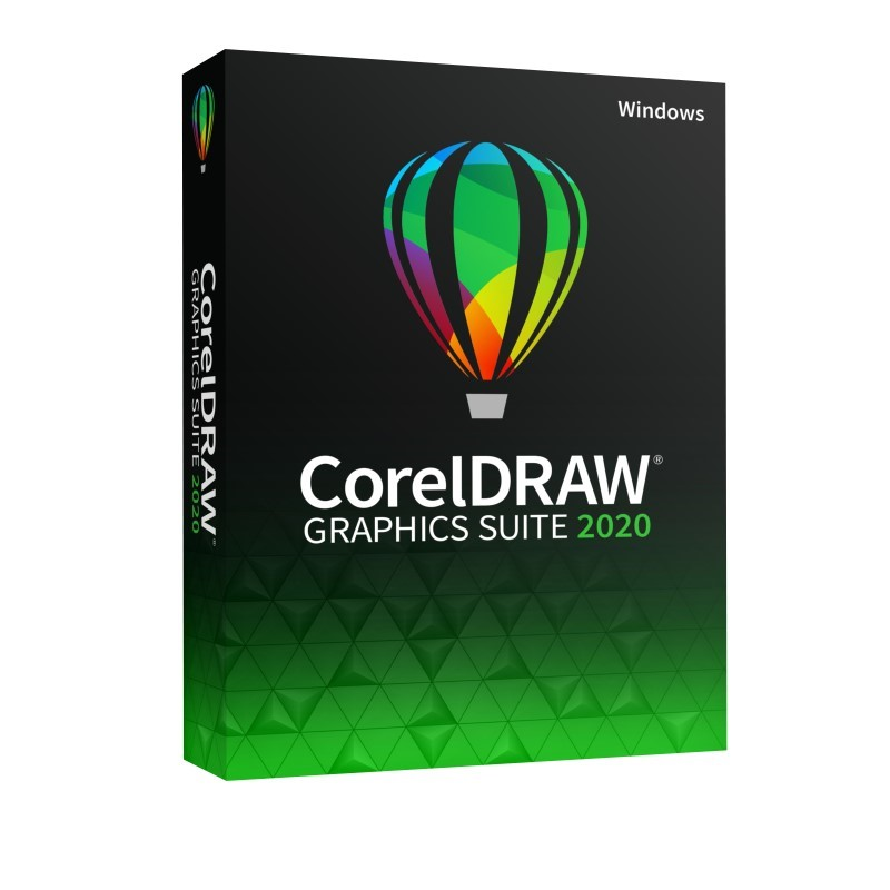 CorelDRAW Graphics Suite 2020 Single User Business License (Windows)