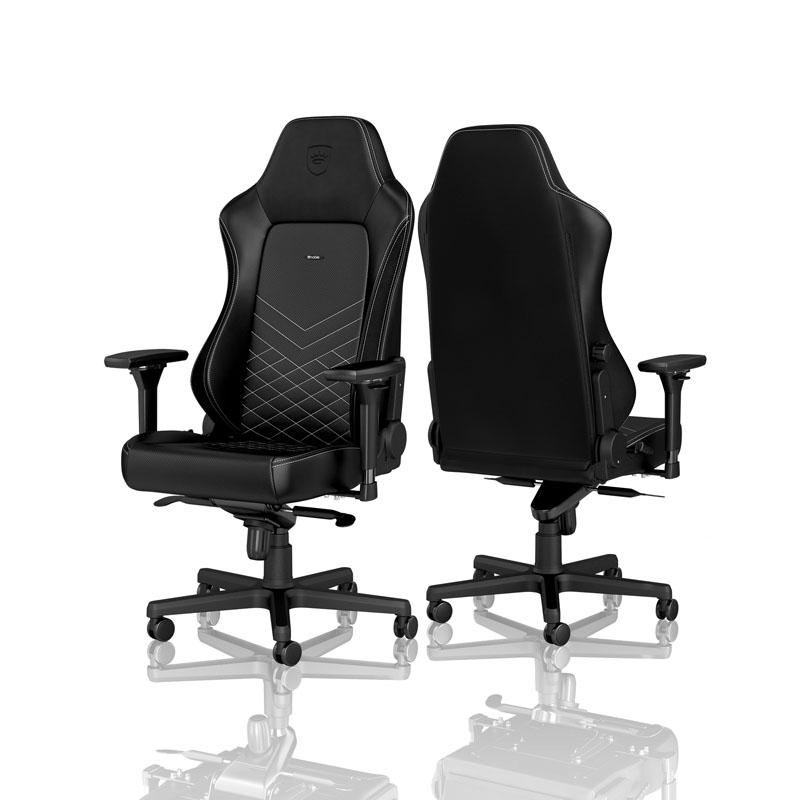 noblechairs HERO Series, Black/Platinum-White