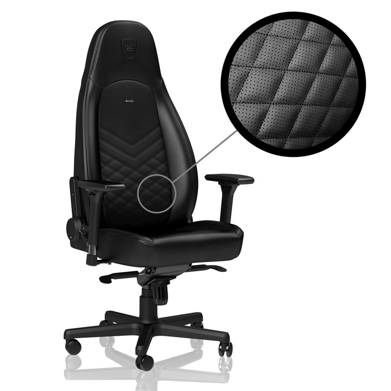 noblechairs ICON Series Faux Leather, black