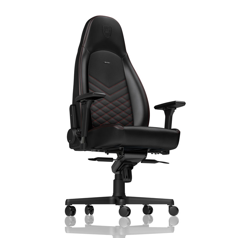 noblechairs ICON Series Faux Leather, black/red