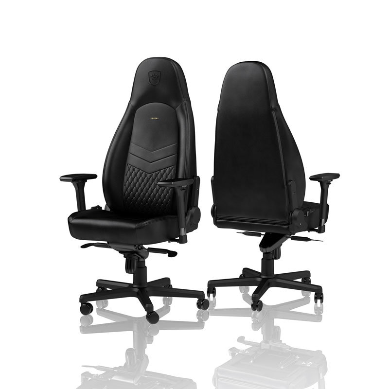 noblechairs ICON Series Real Leather, black