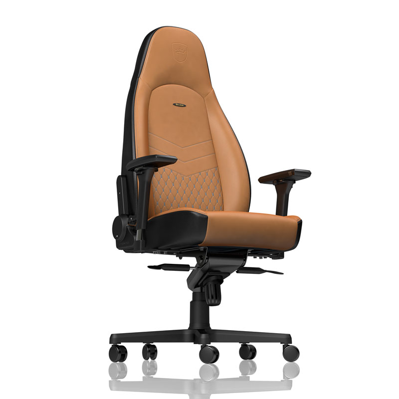 noblechairs ICON Series Real Leather, cognac/black