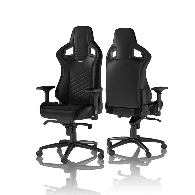 noblechairs EPIC Series Faux Leather, black