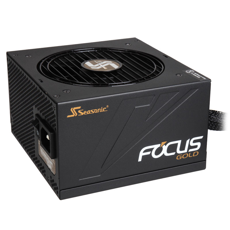 Seasonic Focus 80 Plus Gold PSU, modular - 450 Watt