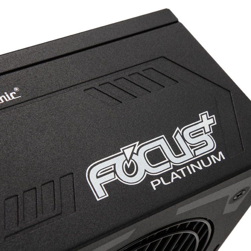 Seasonic Focus+ 80 Plus Platinum PSU, modular - 650 Watt
