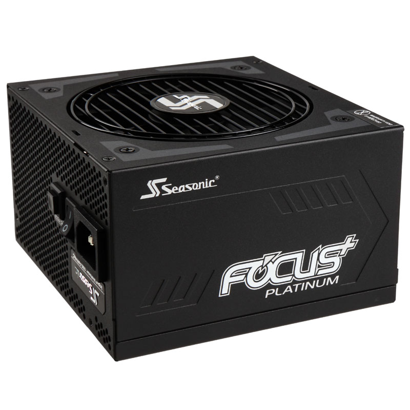Seasonic Focus+ 80 Plus Platinum PSU, modular - 750 Watt