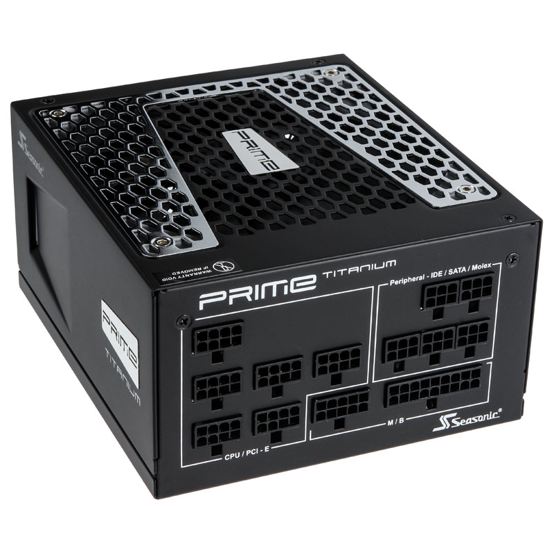 Seasonic Prime 80 Plus Titanium PSU, modular - 750 Watt