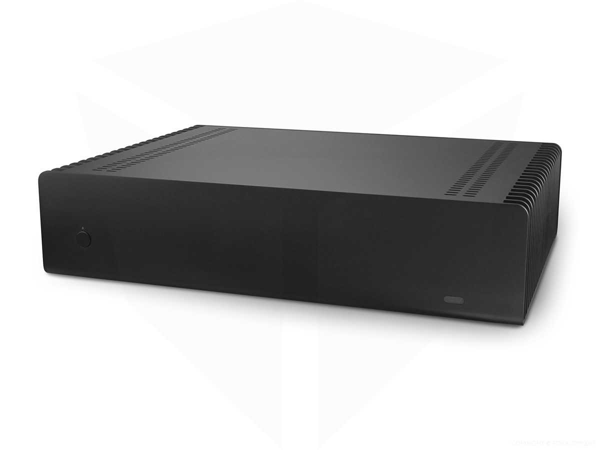 Streacom FC10 Fanless Chassis Black,  Extruded Aluminium , Without Optical slot