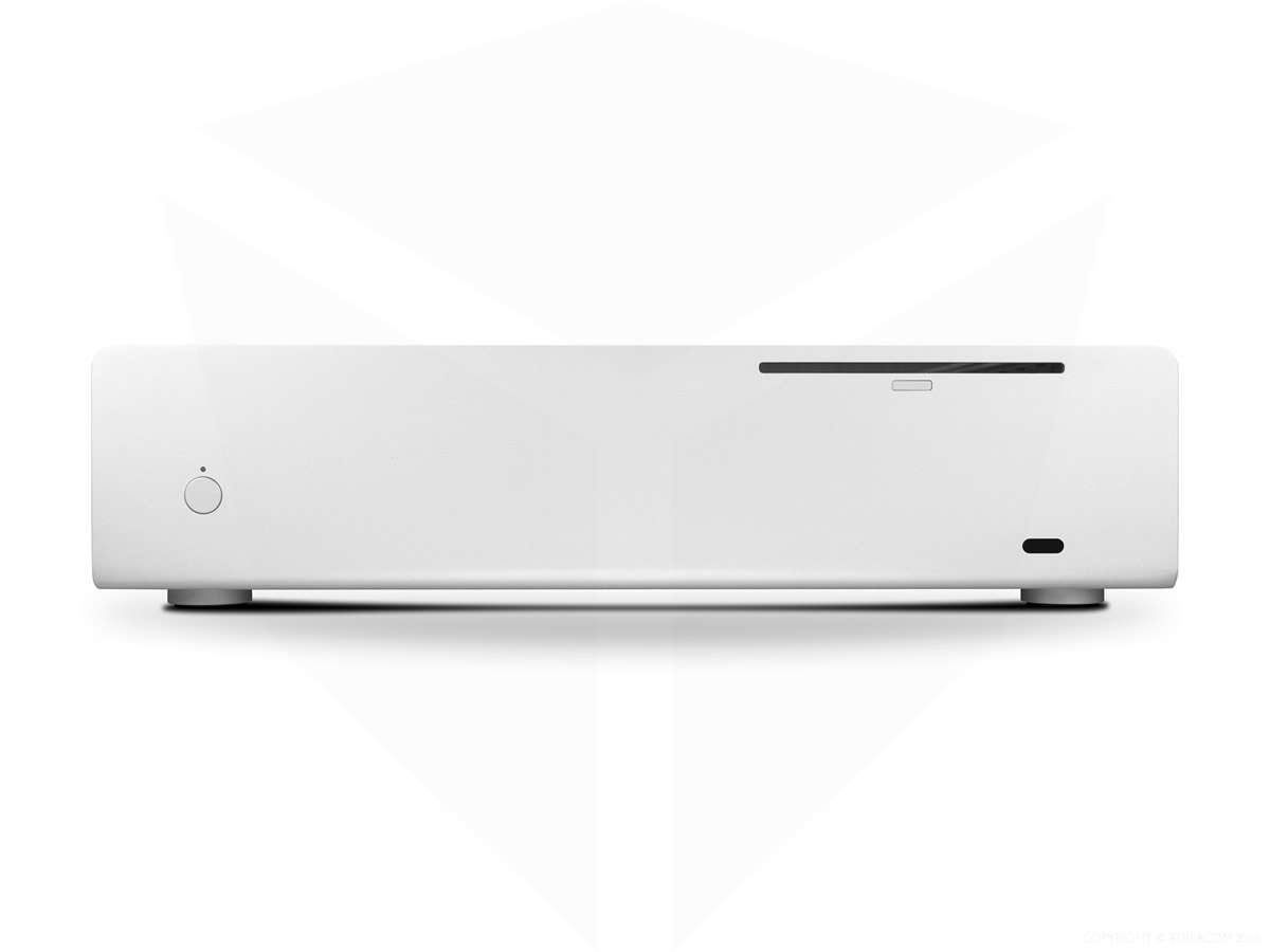 Streacom FC10 Fanless Chassis Silver, Extruded Aluminium, with Optical slot
