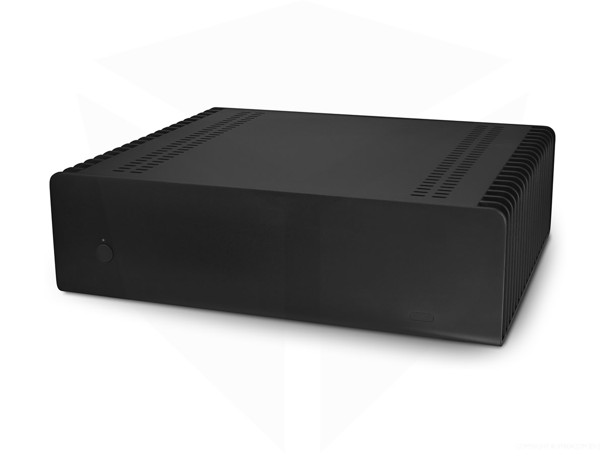 Streacom FC9 Fanless Chassis Black, Extruded Aluminum, without Optical Slot