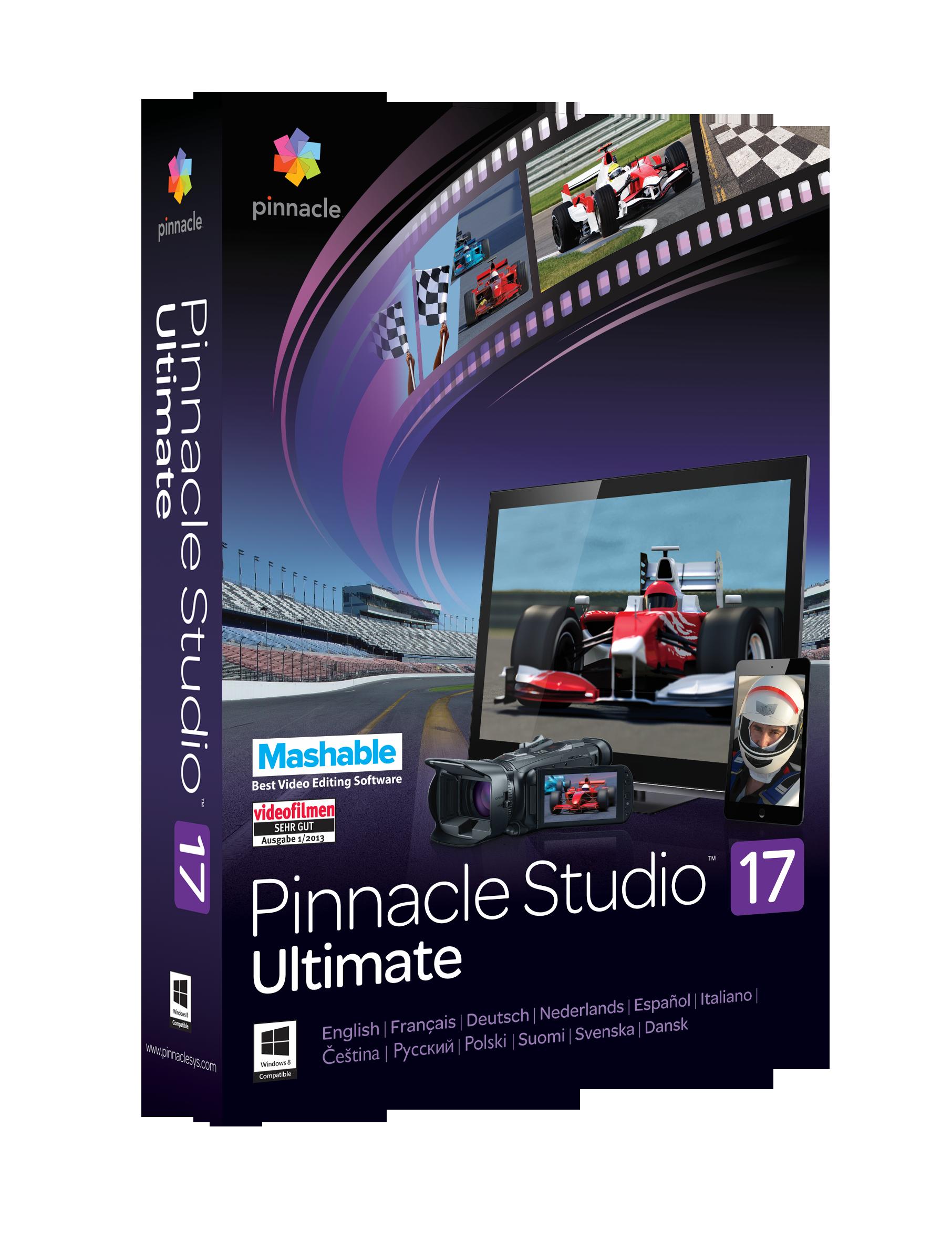 pinnacle studio 17 ultimate serial key